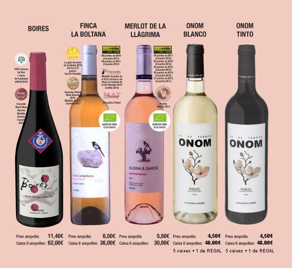 Lista de Precios Vinos Alsina & Sardá