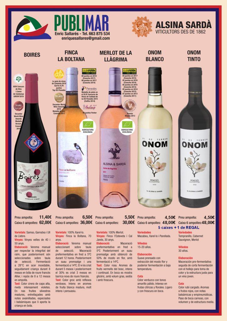 Vinos Alsina & Sardá